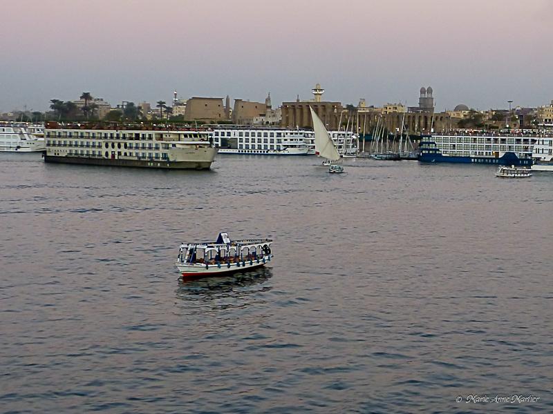 Lune de miel en Egypte 01 Jour1-4