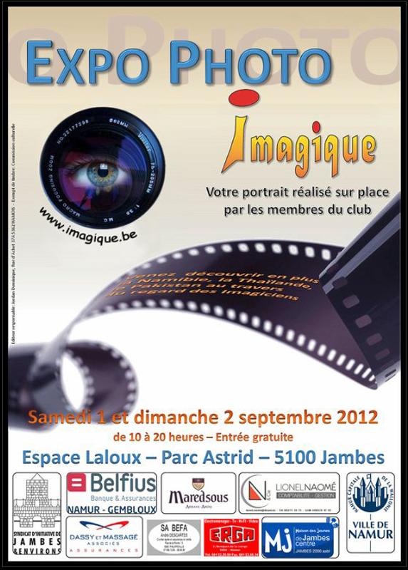 Exposition Photo club Imagique de Jambes Imagique2012