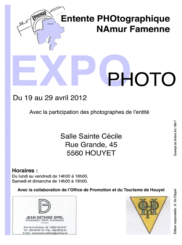 Entente PHOtographique Namur Famenenne 2012
