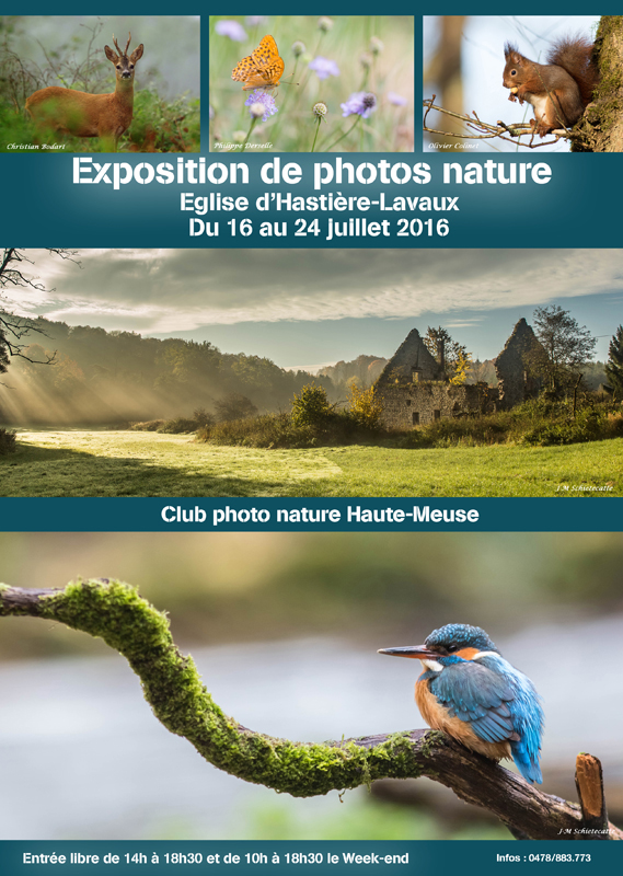 Exposition photos nature ... Hastiere-2016